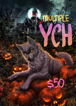 The Pumpkin King MULTIPLE YCH OPEN