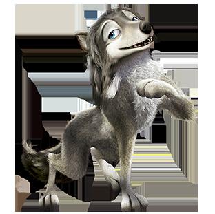 Humphrey The Omega Wolf by bradyrichie