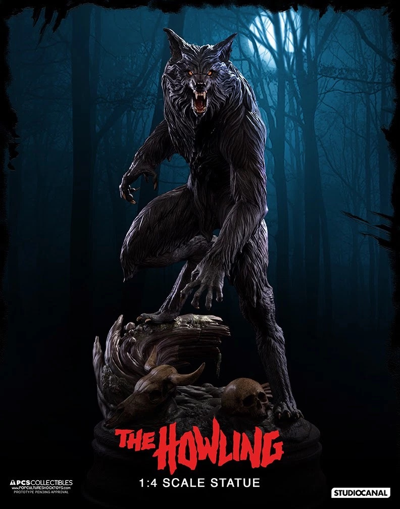 The Howling Statue by bradyrichie