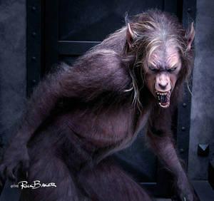 Cursed Werewolf By Rick Baker
