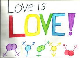 Love is Love by BloodRain092
