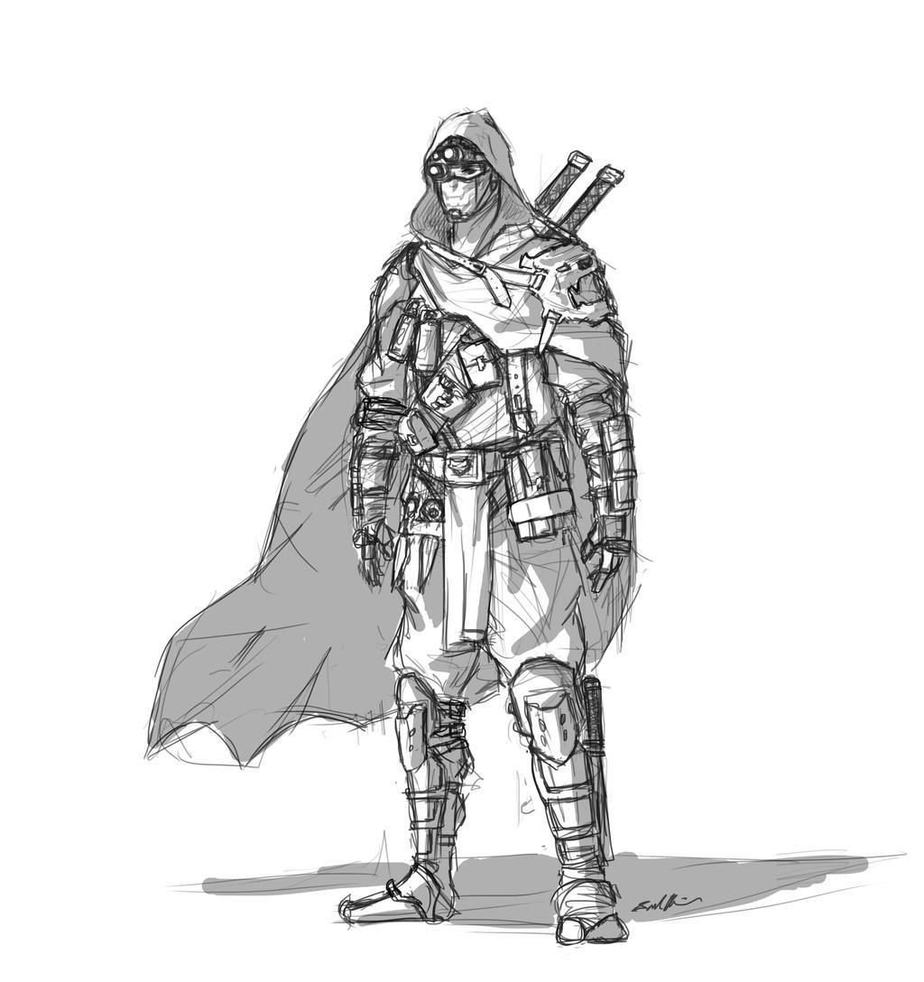 Uncategorized Drawing Ninjas modern ninja by l3monjuic3 on deviantart l3monjuic3