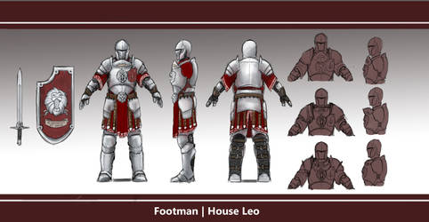 Footman | House Leo by L3monJuic3