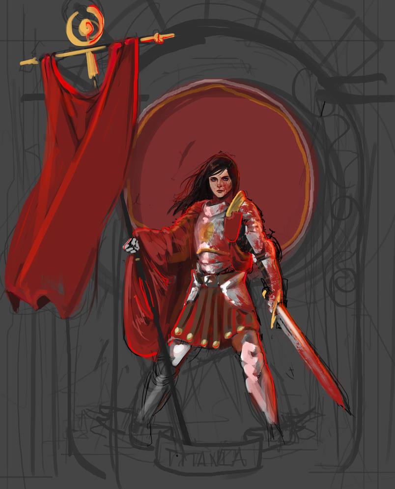 titania work in progress by L3monJuic3