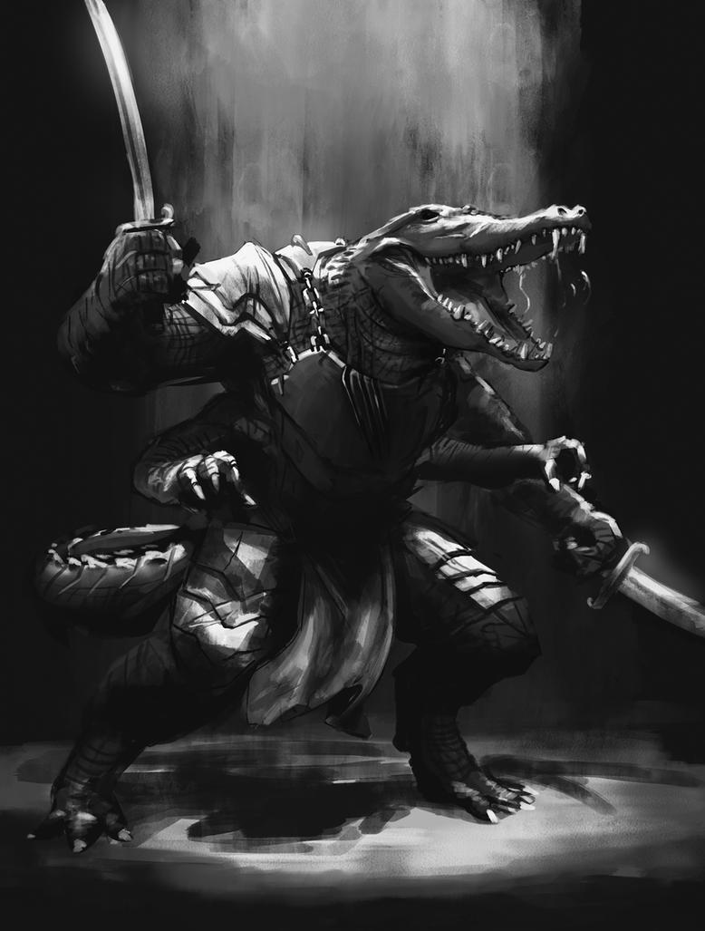 Crocodile Warrior