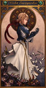 Violet Evergarden - Art Nouveau