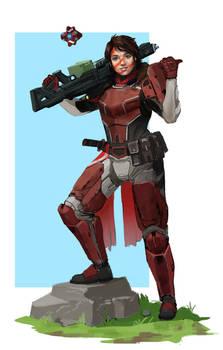 Commission - Destiny OC