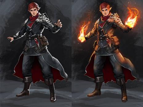 Elven Pyromancer