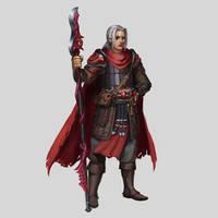Commission - Hexblade Warlock