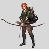 Commission - Elven Marksman Explorer