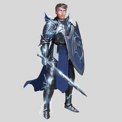 Commission - Elven Paladin/Sorcerer Prince