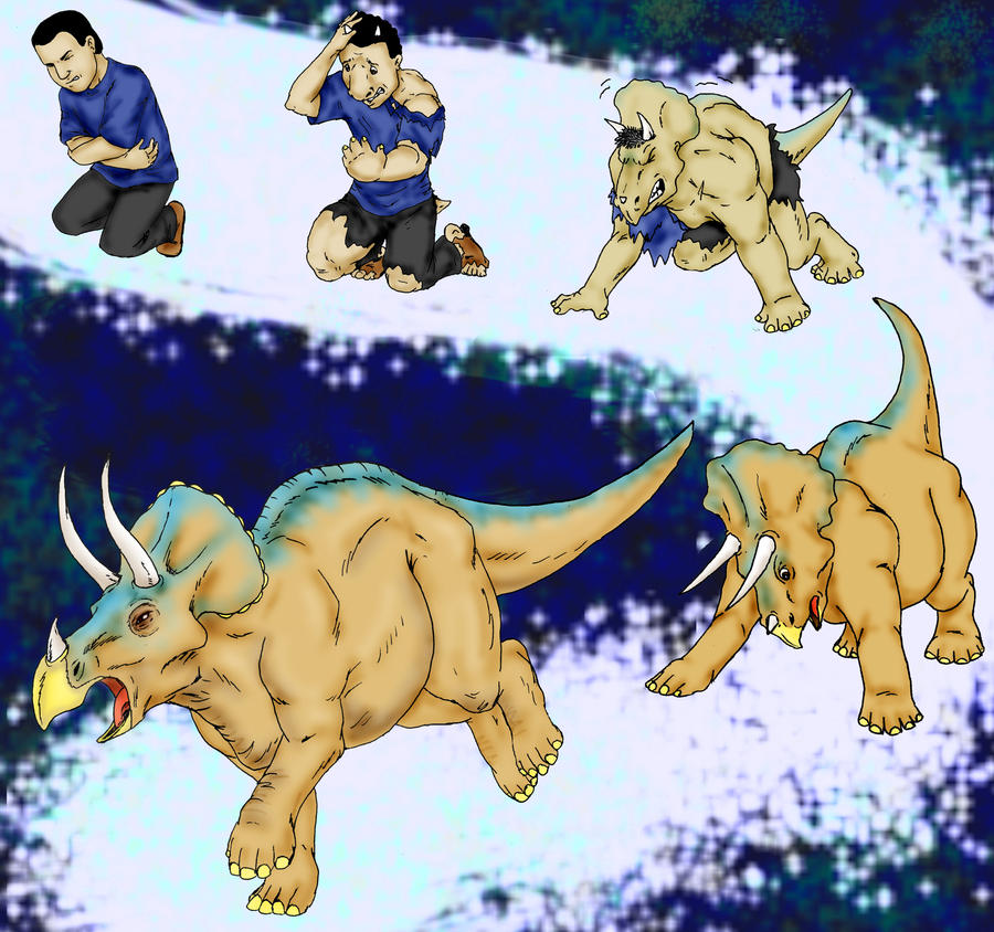 triceratops transformation by canneryratt