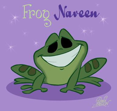 Chibi Frog Naveen by princekido