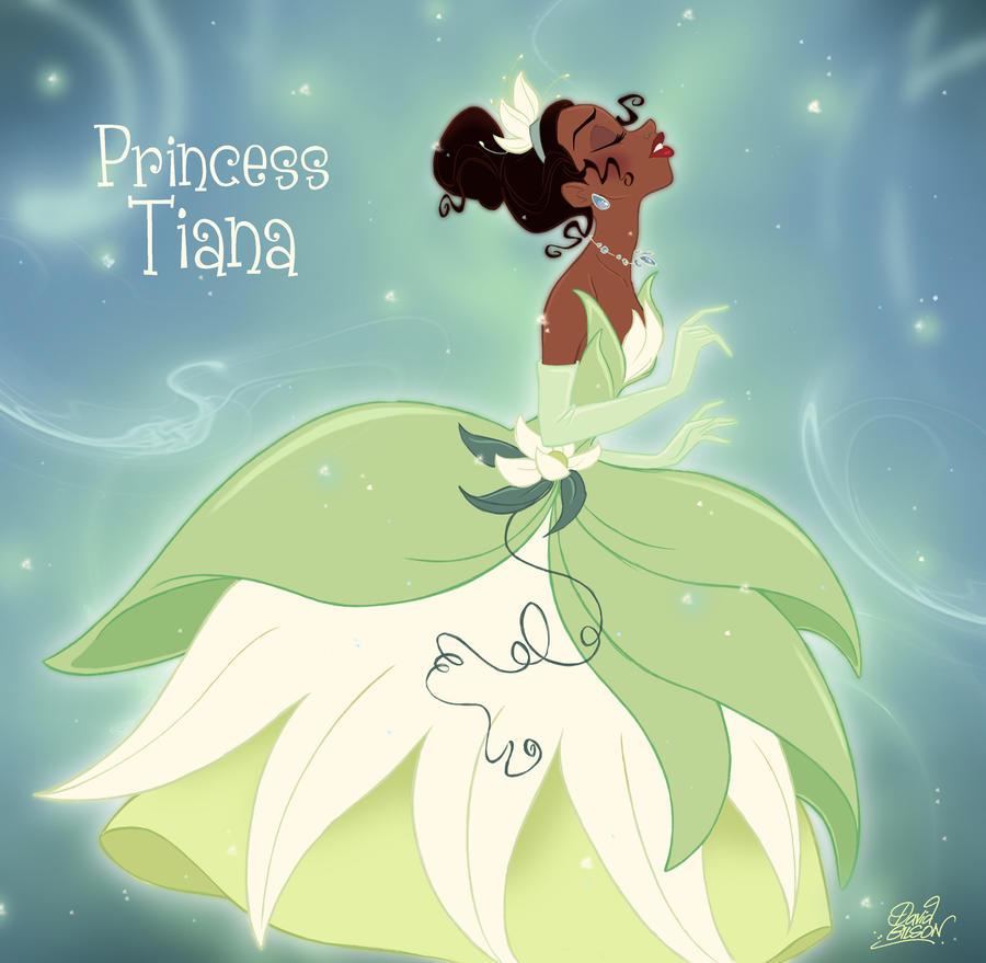 Princess Tiana Art: Tiana Becoming A Princess... By Princekido On DeviantArt