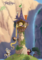 Disney's Chibis TANGLED