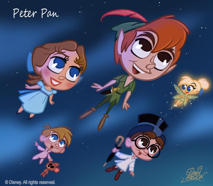50 Chibis Disney Peter Pan By Princekido On Deviantart