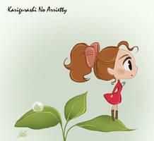 Chibie Arrietty by princekido