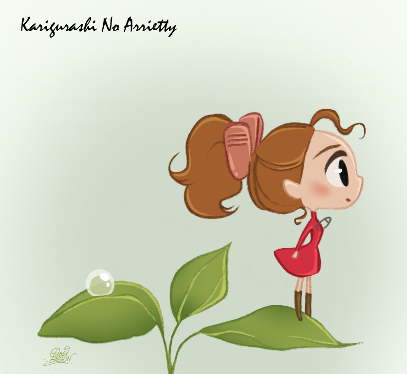 Chibie Arrietty by princekido