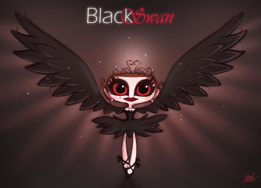 Chibie Black Swan by princekido