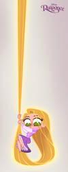 New Chibie Rapunzel by princekido