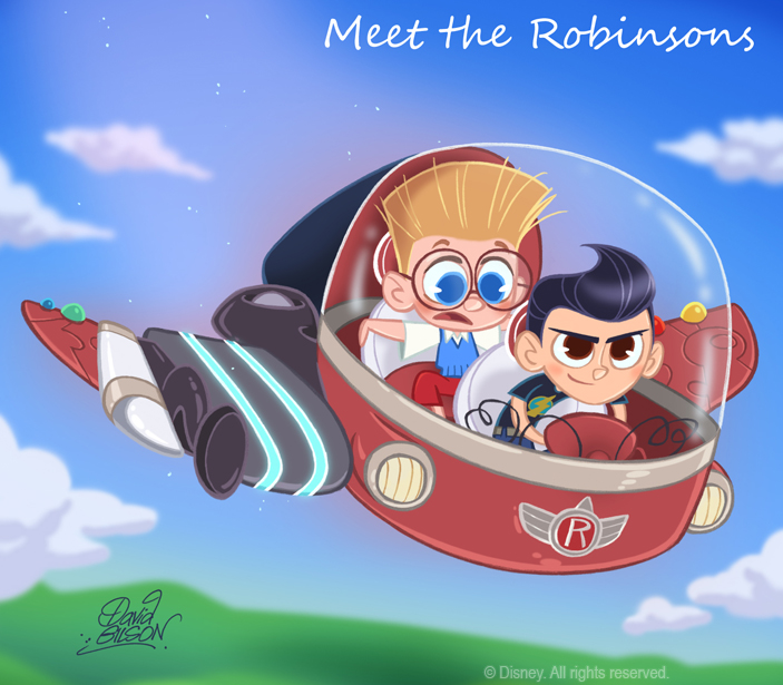 50 Chibis Disney : Robinson by princekido