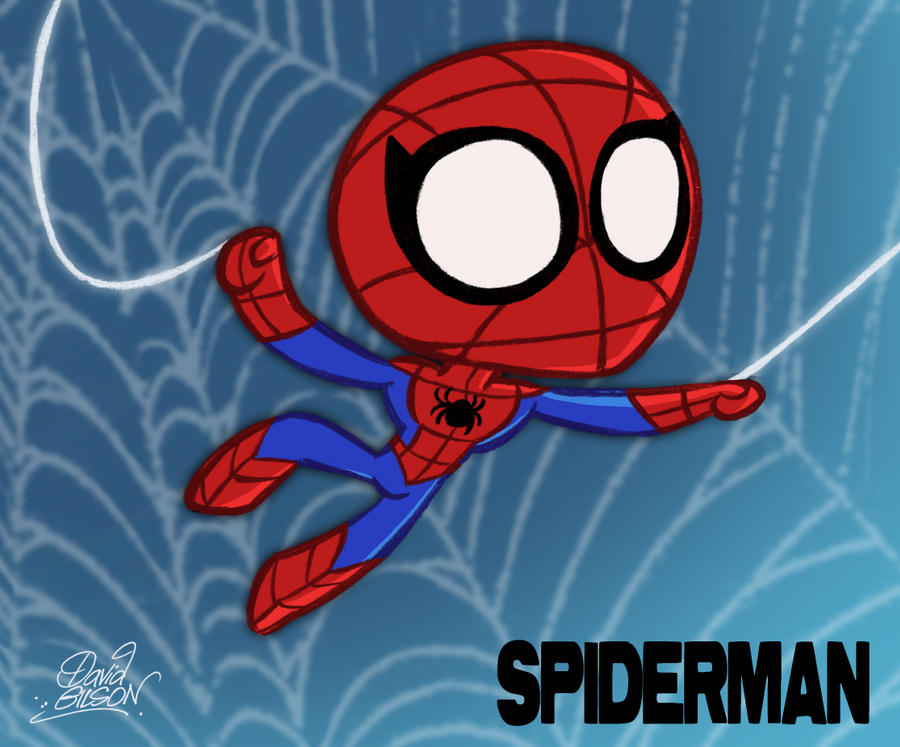Cute Spiderman Chibi Chibi Spiderman by Princekido