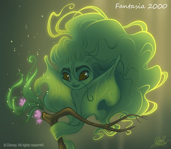 50Chibis Disney: Fantasia 2000 by princekido