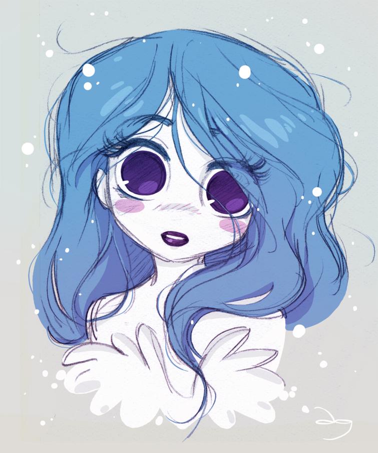 Les grands yeux de Princesse Soupir by princekido