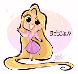 Kawai Disney's Rapunzel by princekido