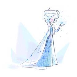 Cutie Frozen Elsa by princekido