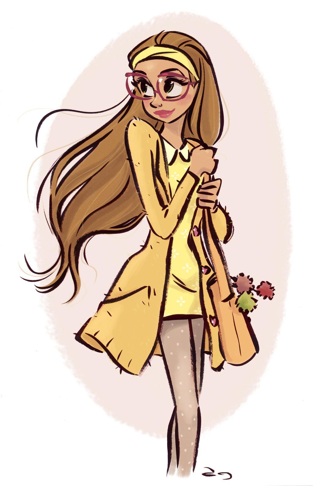 Big Hero 6 Anime Characters : Honey lemon from disney s big hero by princekido on