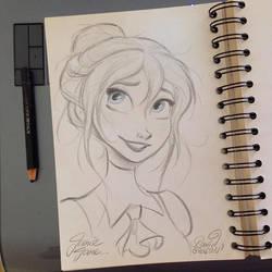 Jane Porter from Disney's Tarzan by princekido
