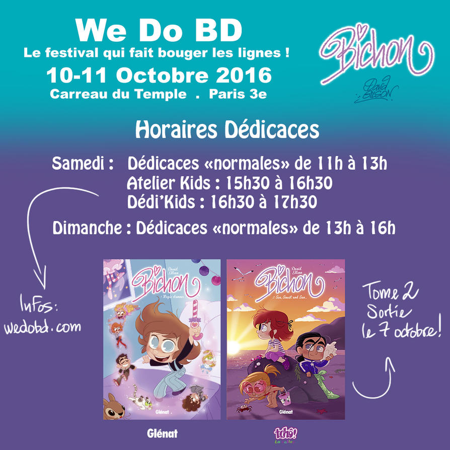 Bichon-WeDoBD-Horaires by princekido