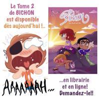Le tome 2 de ma BD Bichon sort aujourdhui by princekido