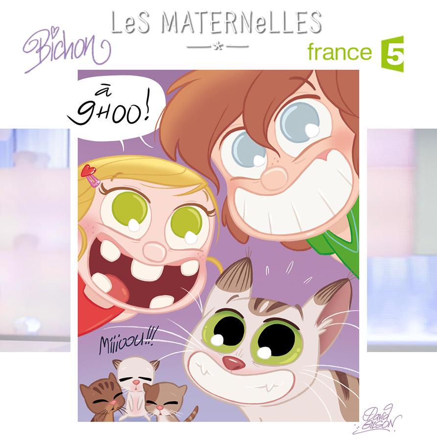 Bichon sur France 5 demain dans Les Maternelles by princekido