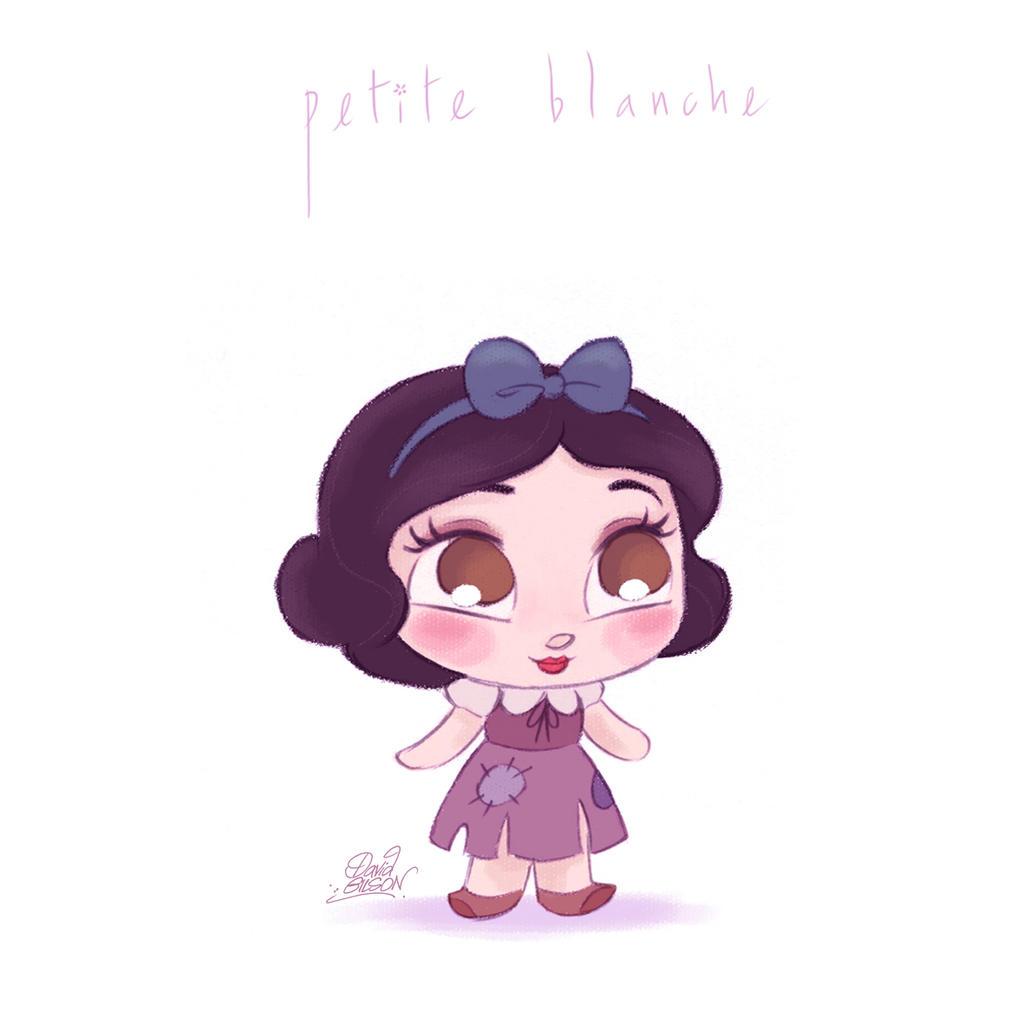 Petite blanche by princekido on deviantart - Petite princesse disney ...