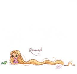 Mini Disney's Rapunzel and Pascal