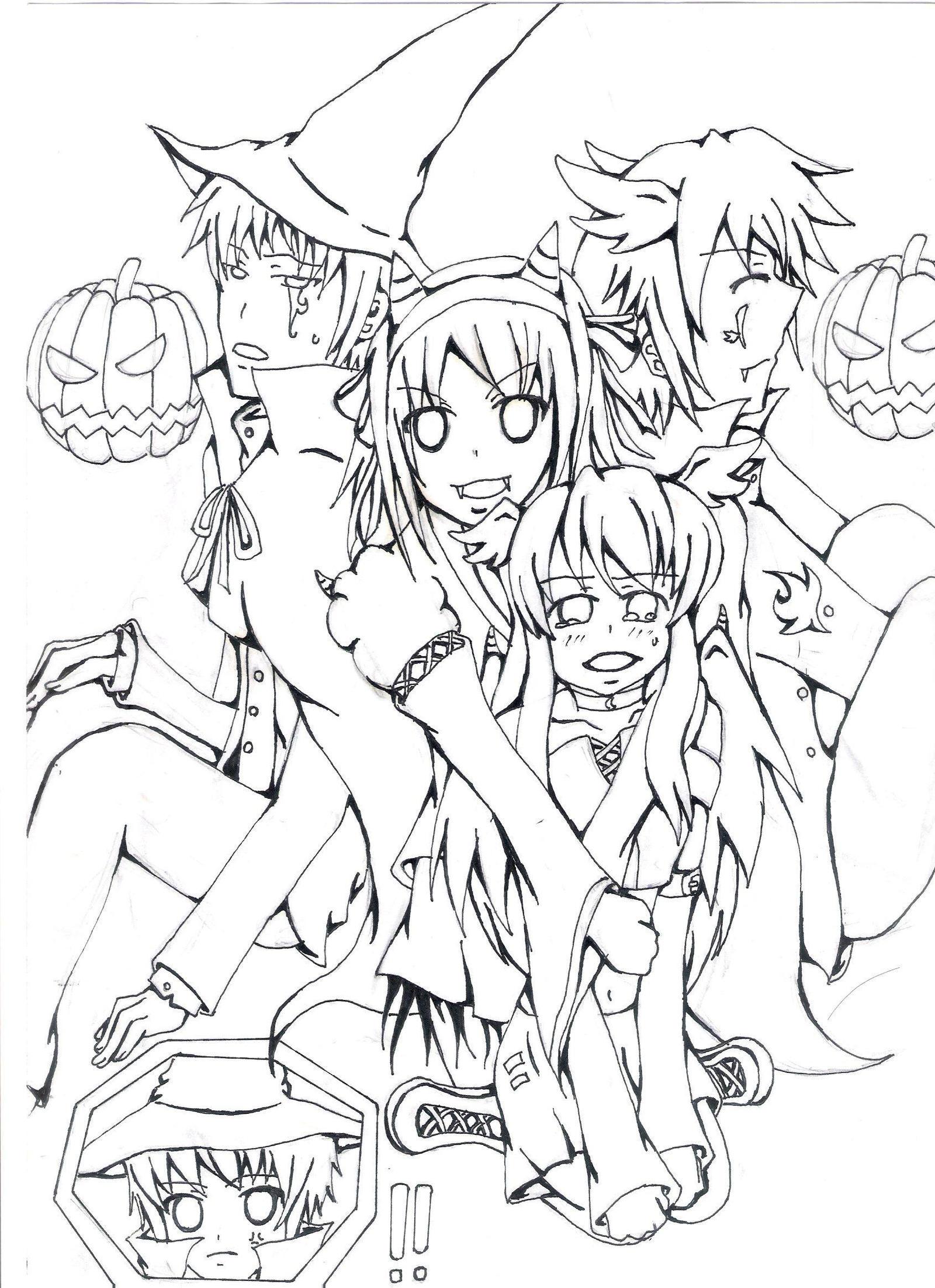 Suzumiya Haruhi Halloween