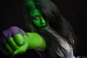 She-Hulk by iasho