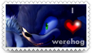 I love werehog stamp by jayfoxfire