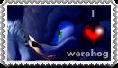 I love werehog stamp by jayfoxfire