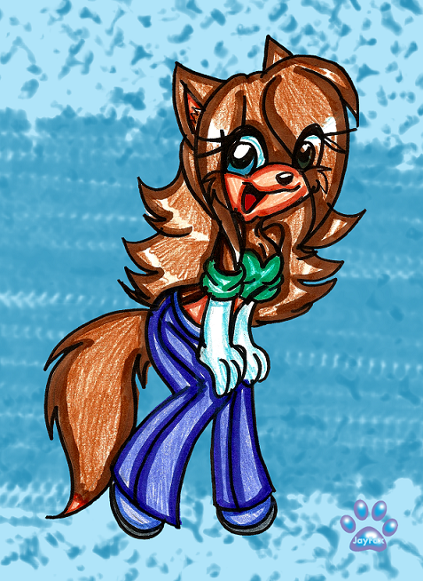 Jenni the wolf by jayfoxfire on deviantart for Jenni wolf