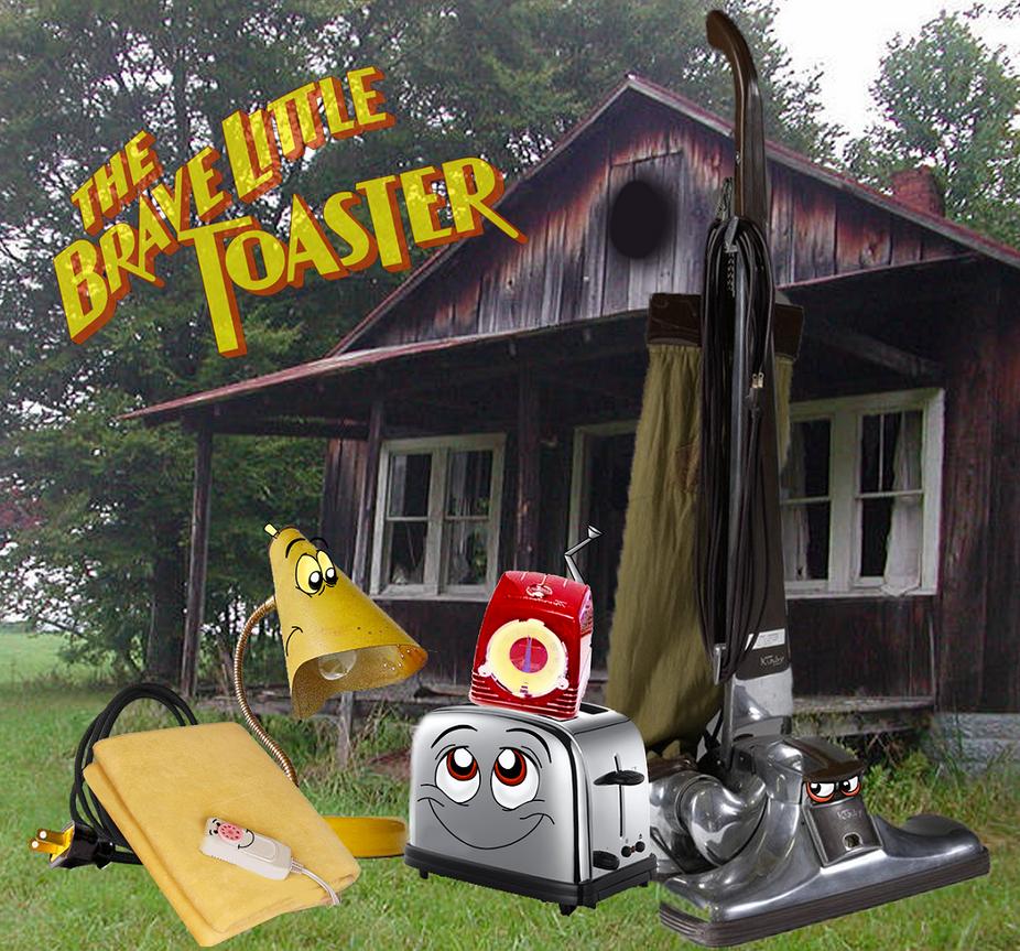Brave little toaster 2 by jayfoxfire
