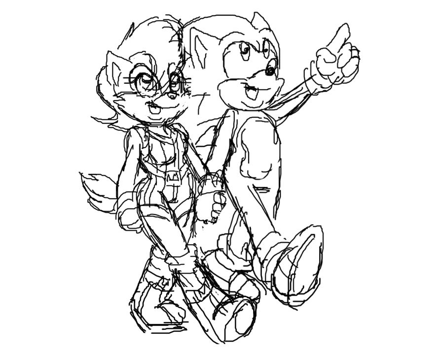 Sonic's Family Life ep 2 WIP by jayfoxfire