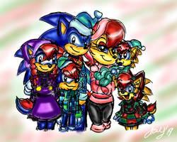 Hedgeacorn family Christmas