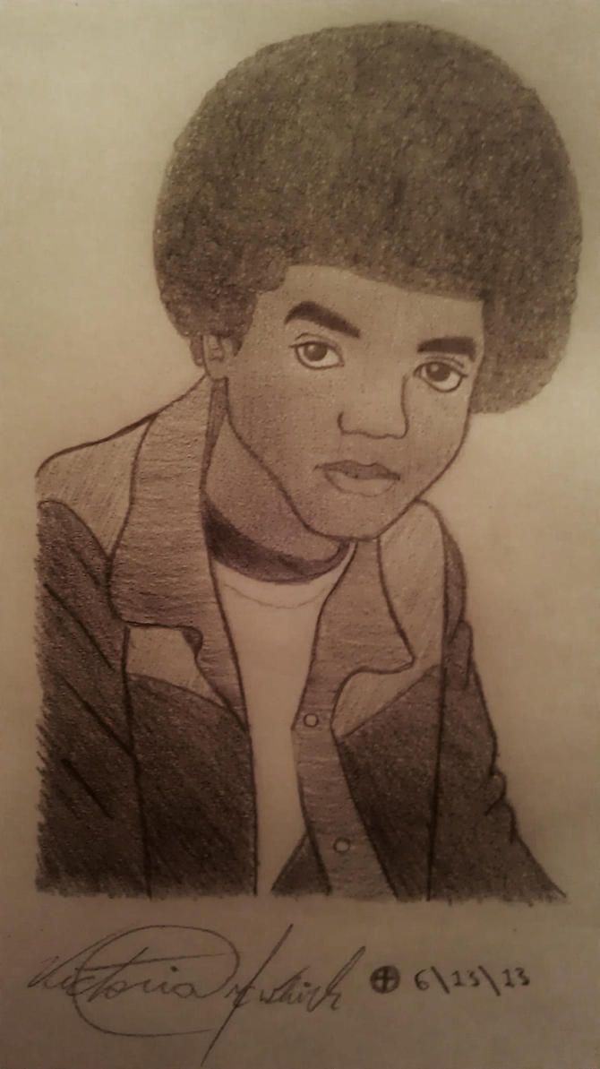 Young Michael by xMJJMoonwalker