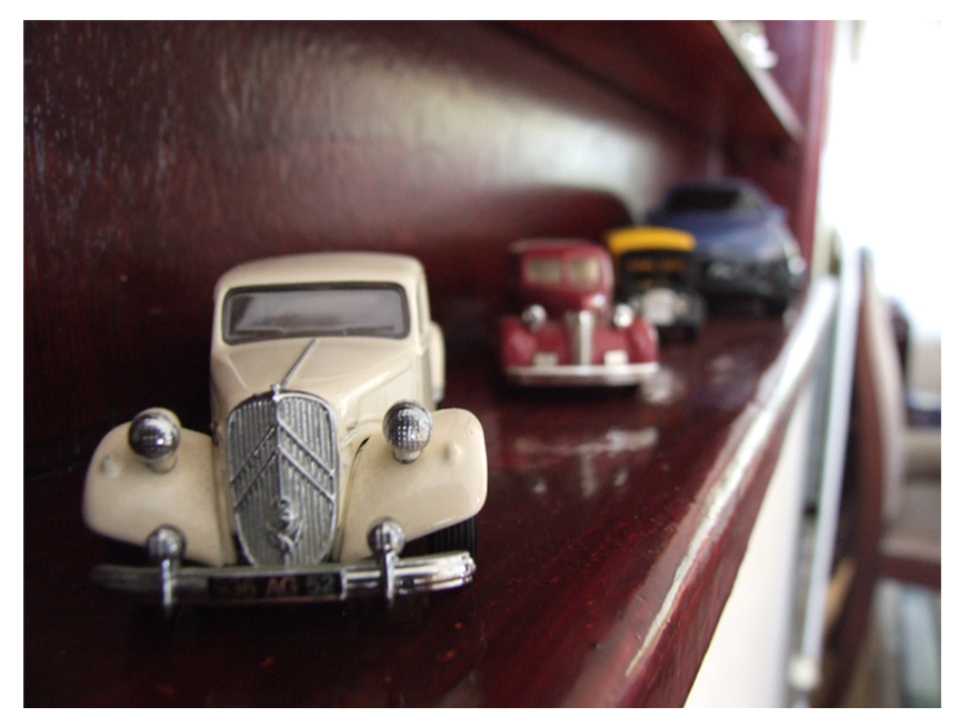 Collects Old Cars Hobby