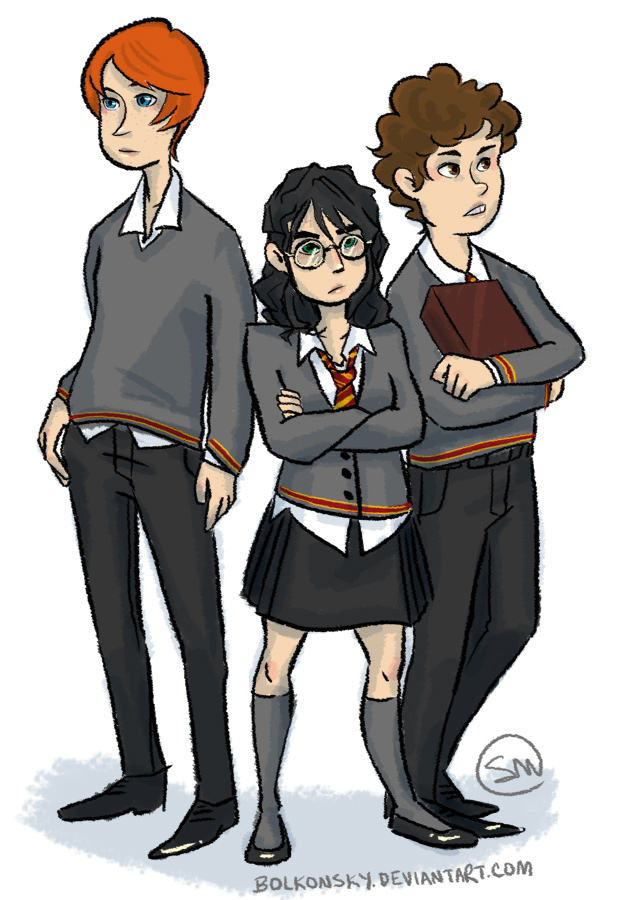 Harriet Potter the Frumpy Lesbian by bolkonsky
