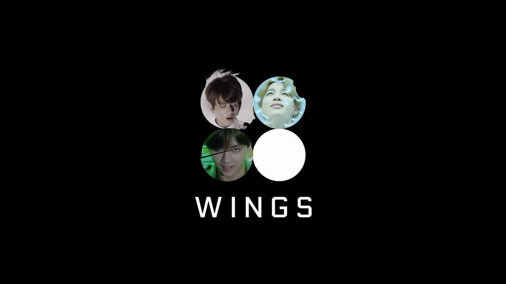 wings  1    2    3 desktop wallpaper  dark  by pikyan dagxlpp