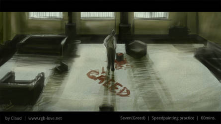Speedpainting (Seven, Greed)